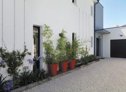 maison contemporaine à la Rochelle façade avant