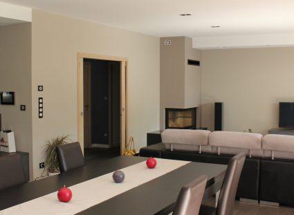 maison contemporaine sejour lumineux