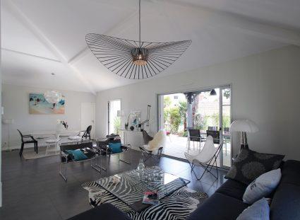 maison contemporaine sejour moderne