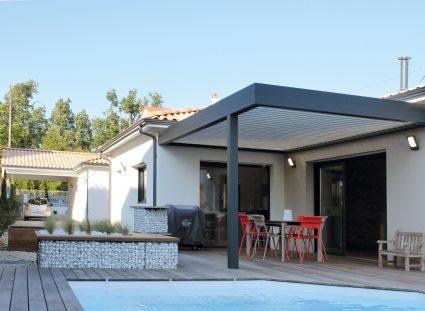 maison de ville bordeaux pergola terrasse