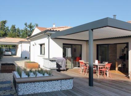 maison de ville bordeaux terrasse couverte
