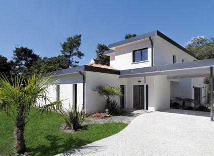 Maison design façade avant