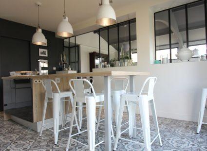 maison elegante bordeaux cuisine
