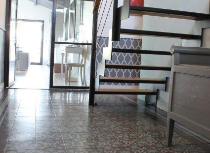 maison élégante bordeaux escalier