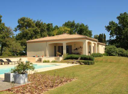 maison en Dordogne maison contemporaine