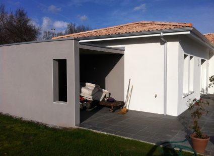 maison igc avec portique beton