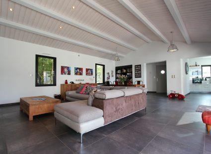 maison à la rochelle avec séjour moderne