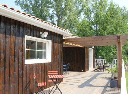 maison ossature bois arcachon avec terrasse