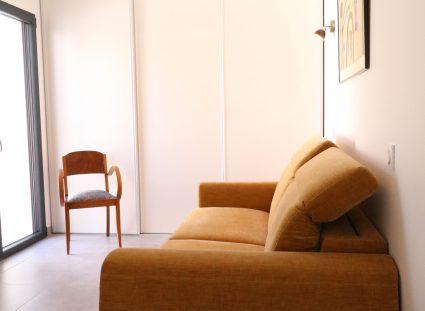 maison retaise contemporaine chambre avec salle bain