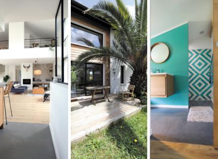 maison contemporaine sur la côte basque