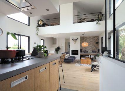 maison basque grande pièce a vivre