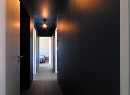 maison vendéenne couloir noir