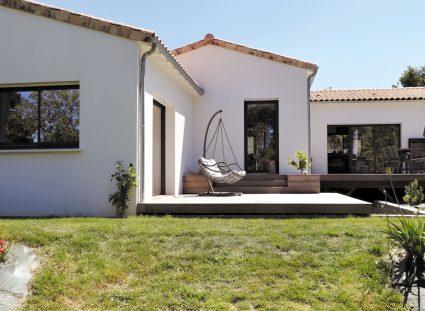 maison vendéenne avec terrasse