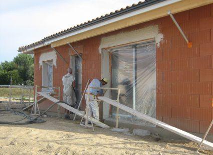 maisons expérimentales baies vitrées