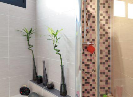 maison contemporaine prestige salle de bain