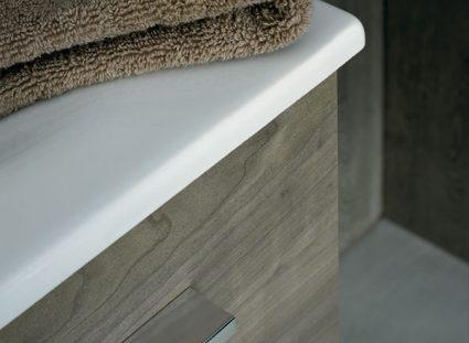 meuble salle de bain halo texture bois