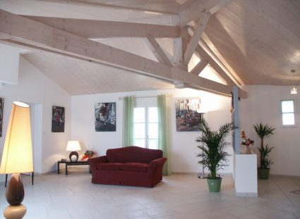 plafond rampant