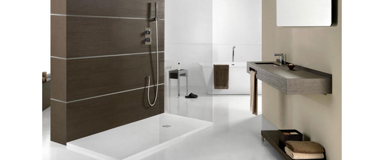 receveur douche salle de bain moderne