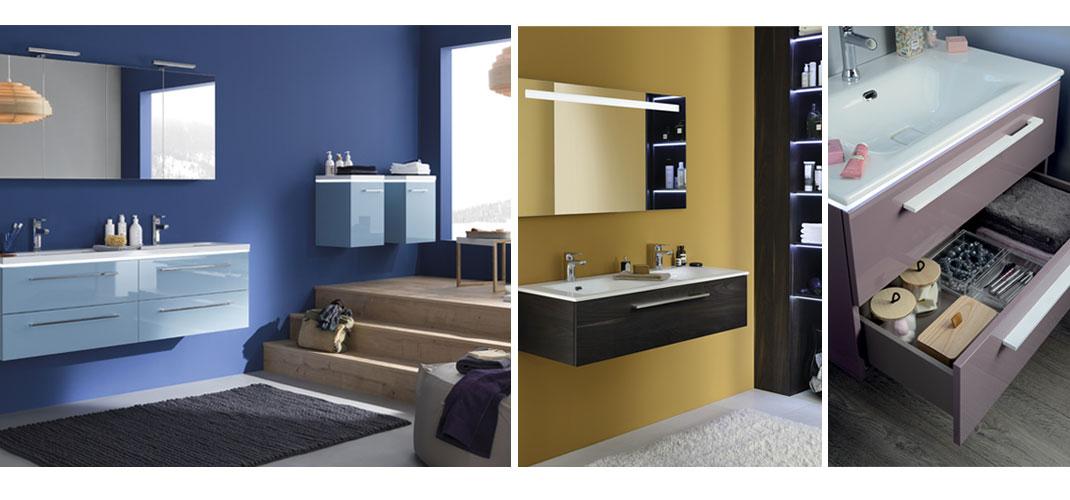 meubles de salle de bains signés Sanijura