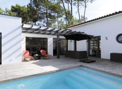 superbe maison évasion terrasse aménagée