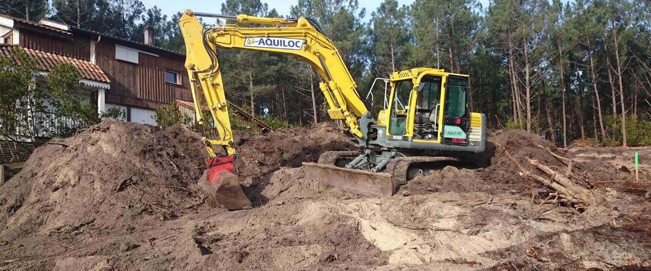 terrain en construction suite à visite technique
