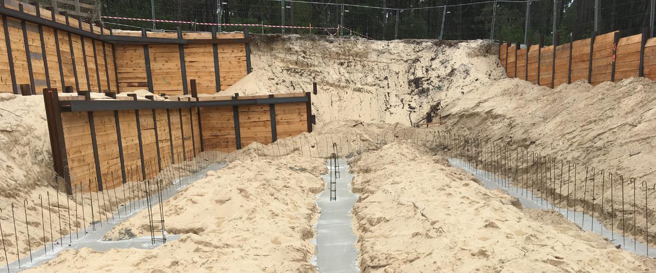 terrain sableux en construction visite technique