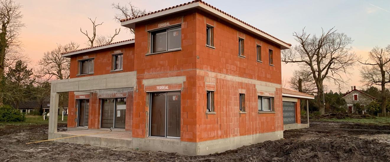 maison construite après une visite technique