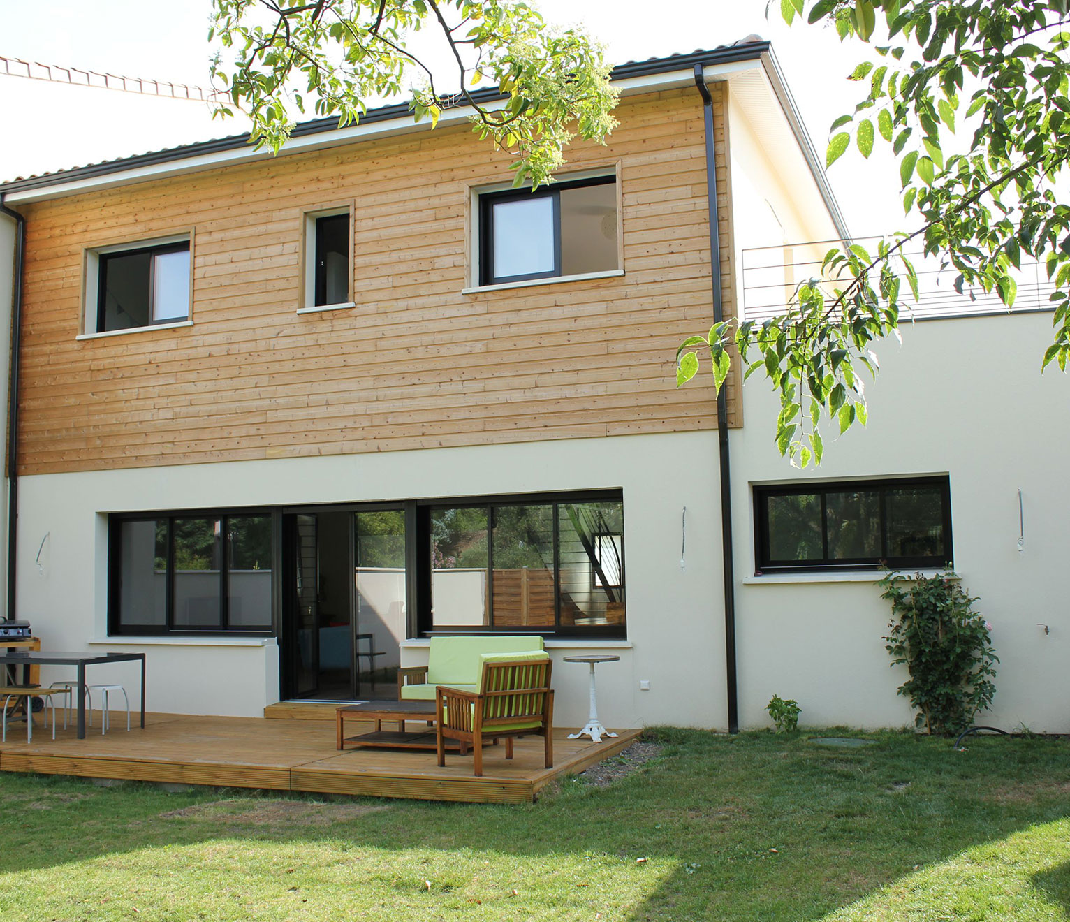 une maison de ville à Bordeaux