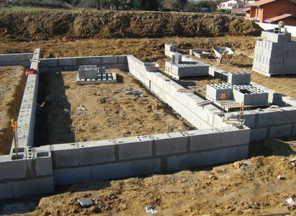 une construction sur vide sanitaire