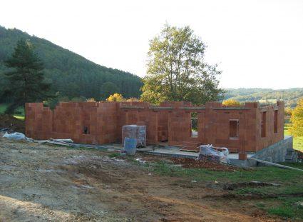 vide sanitaire élévation murs