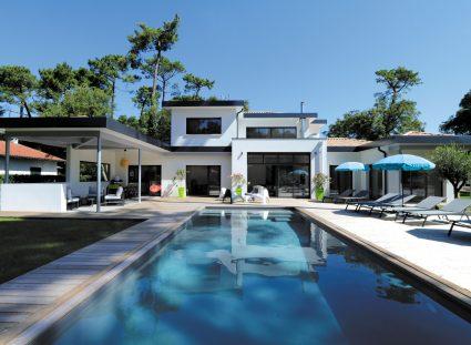 villa avec piscine signée IGC