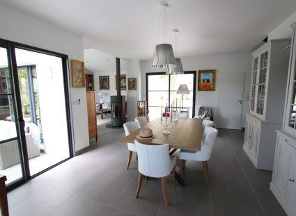 villa contemporaine igc salle à manger design