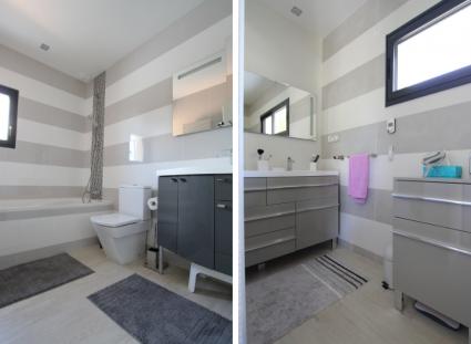 villa contemporaine igc avec salle de bain moderne