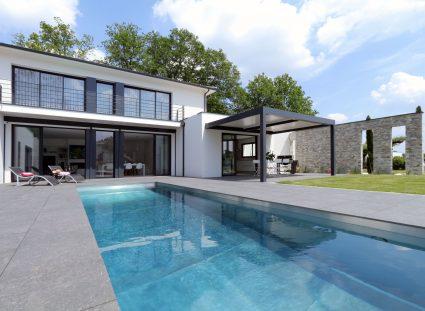 villa contemporaine proche de Bordeaux