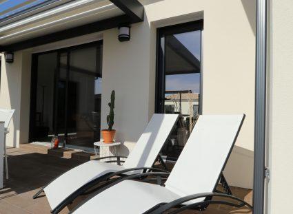 villa contemporaine terrasse