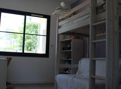 villa lignes épurées chambre enfant