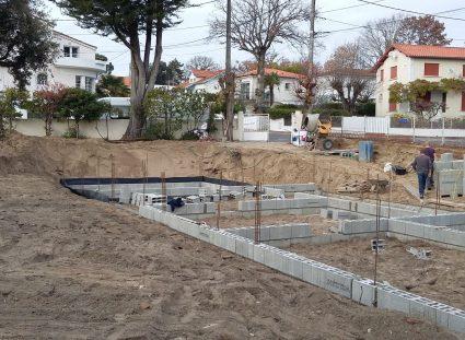 chantier maison neuve à royan