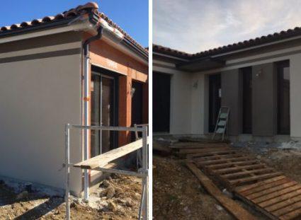 construction maison plain pied ariane architecture moderne