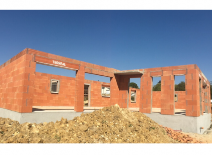 construction maison de plain-pied sur vide sanitaire