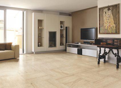 carreaux marbre beige pour salon élégant