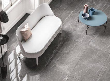 carreaux marbre dans un salon