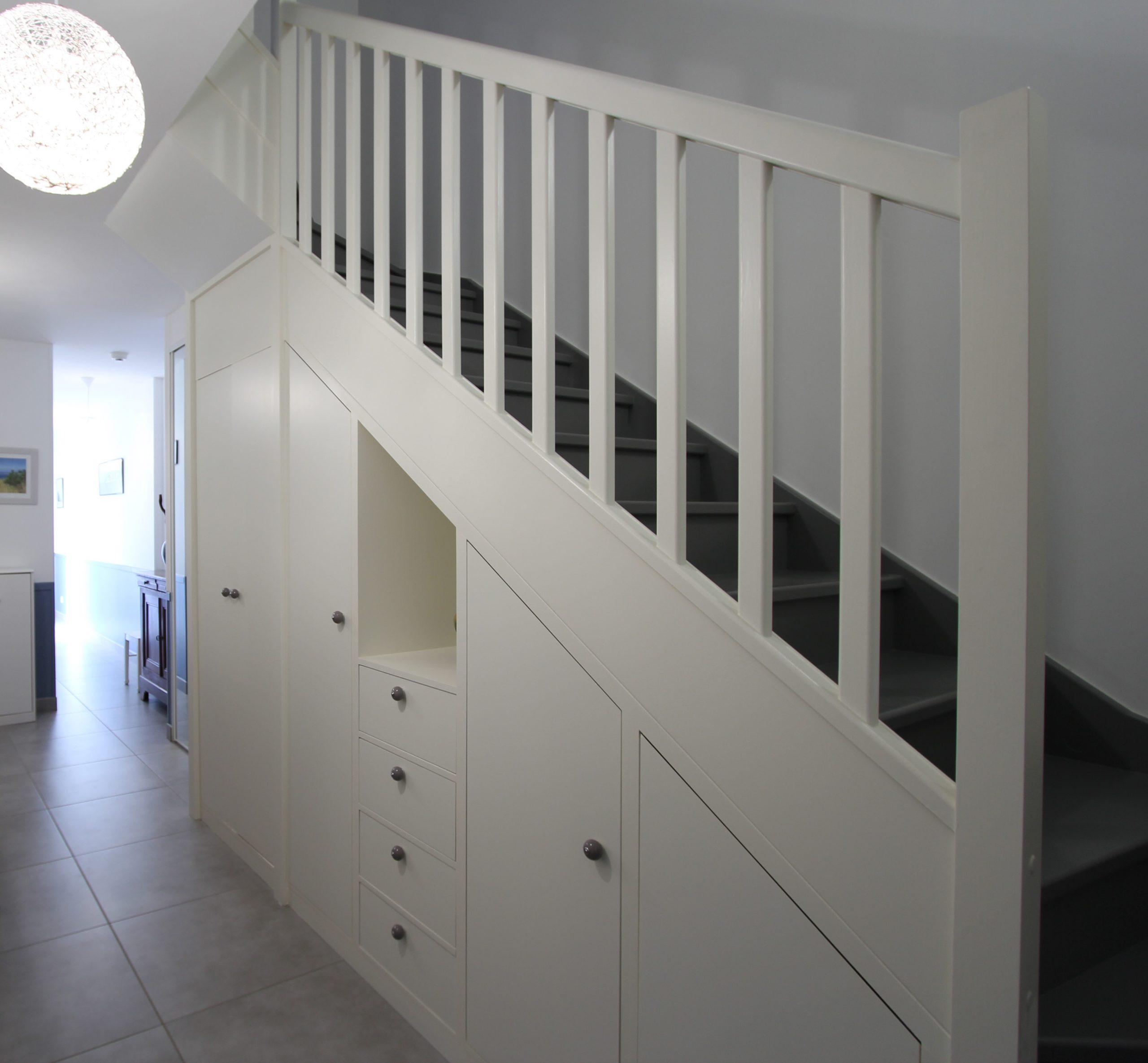 choisir escalier droit maison contemporaine