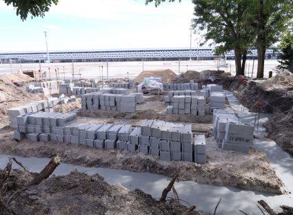 maison en construction fondation