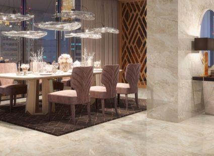 magnifique salon avec carreaux grès cérame