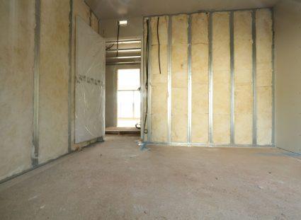 maison en construction platrerie