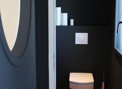 toilettes épurées design