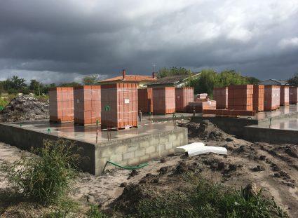 construction maison à étage radier