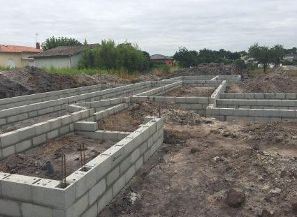 construction maison à étage vide sanitaire