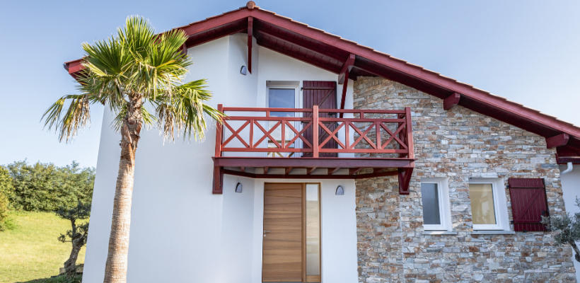 construction maison basque