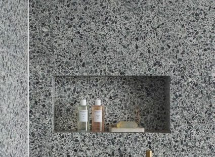 granito ambiance chic pour salle de bains